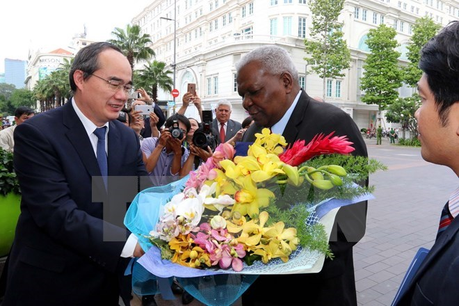 Cuban top legislator visits HCM City, Government news, Vietnam breaking news, politic news, vietnamnet bridge, english news, Vietnam news, news Vietnam, vietnamnet news, Vietnam net news, Vietnam latest news, vn news