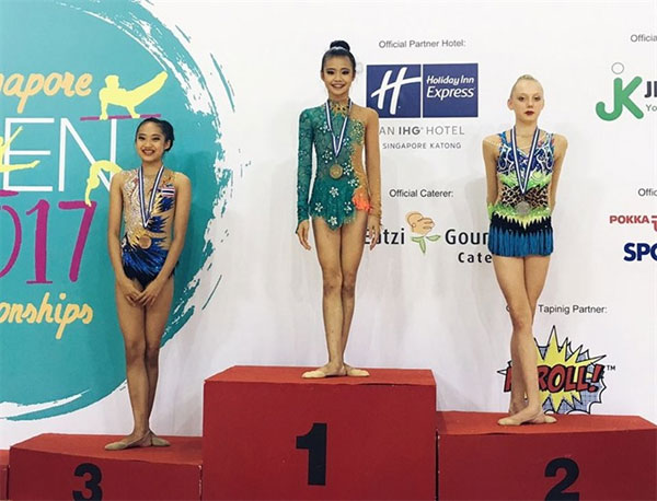 Singapore Rhythmic Gymnastics Open, Gymnast My, win, Vietnam economy, Vietnamnet bridge, English news about Vietnam, Vietnam news, news about Vietnam, English news, Vietnamnet news, latest news on Vietnam, Vietnam