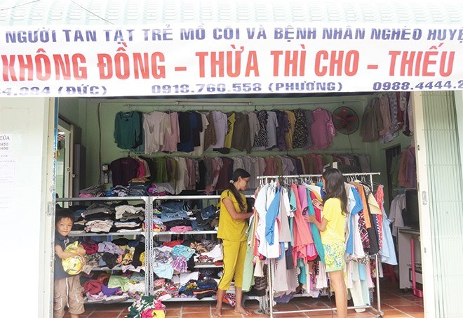 """Khong (Zero) Dong"" shop offers free goods to people in need, social news, vietnamnet bridge, english news, Vietnam news, news Vietnam, vietnamnet news, Vietnam net news, Vietnam latest news, vn news, Vietnam breaking news"
