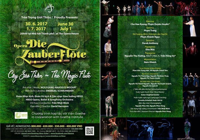 "Opera ""The Magic Flute"" to return to Saigon next week"
