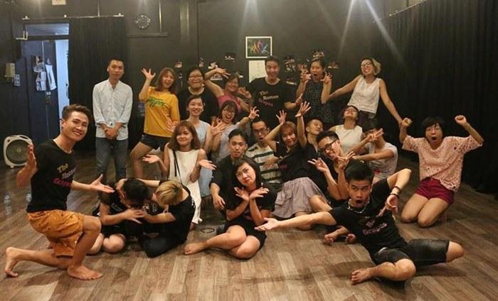 Improvisation comedy show with Vietnamese-Australian director Tony Le Nguyen