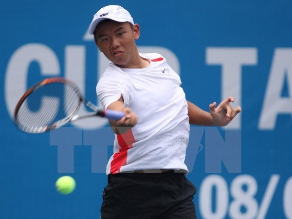 VN's top tennis player Ly Hoang Nam beat Edward Bourchier at Thailand F3 event