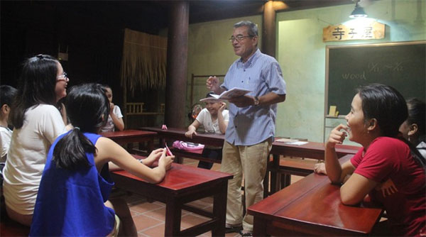 Childhood Japanese lessons in the heart of Hoi An