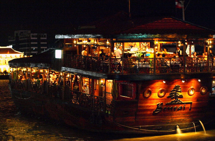The places to come at night in Saigon