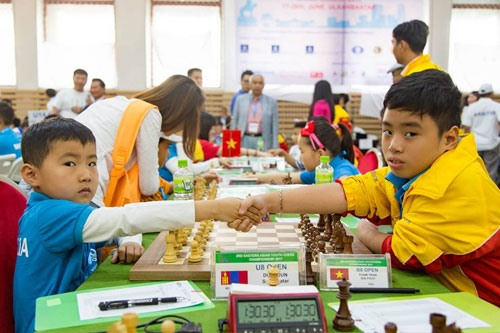 Vietnam win five golds in Asian chess championship