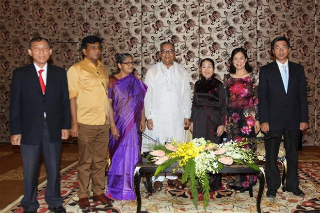 Bangladesh's Communist Party chief greeted in HCM City