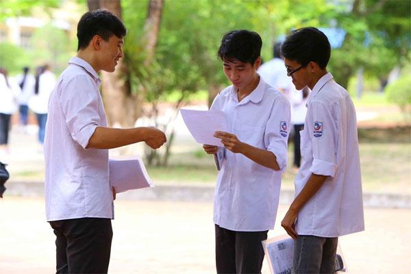High school exam held nationwide