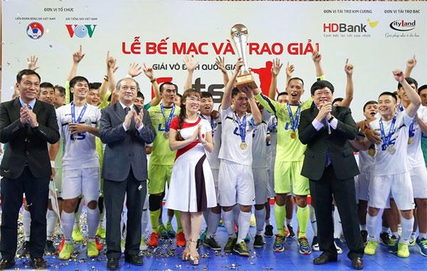 Thai Son Nam take national futsal event title