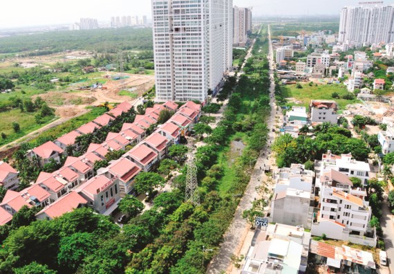 Four satellite cities ploddingly implemented in HCM City