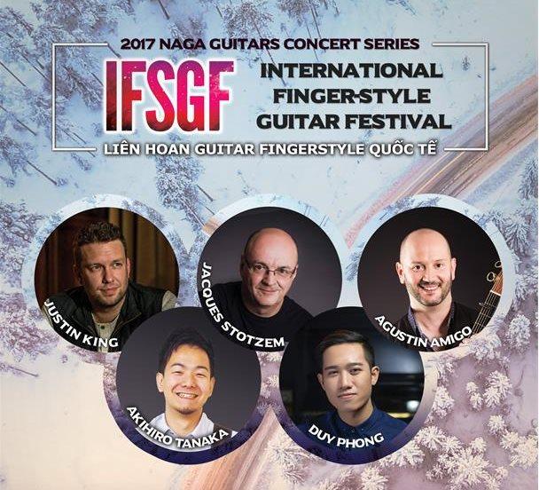 Vietnam Int'l Finger-Style Guitar Festival 2017 to be held in Hanoi & HCM City