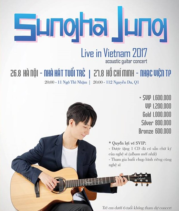 Korean guitar prodigy Sungha Jung to perform in Hanoi & HCM City, entertainment events, entertainment news, entertainment activities, what's on, Vietnam culture, Vietnam tradition, vn news, Vietnam beauty, news Vietnam, Vietnam news, Vietnam net news