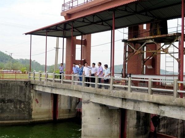 Urgent Nui Coc Lake Dam repair work proposed