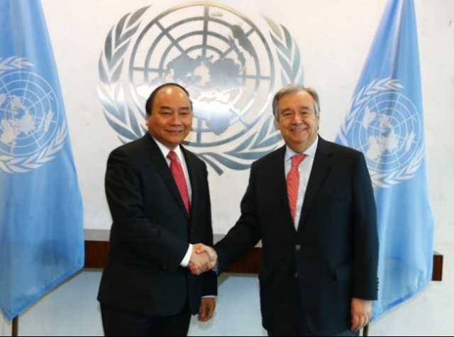 Vietnam & UN sign new One Strategic Plan