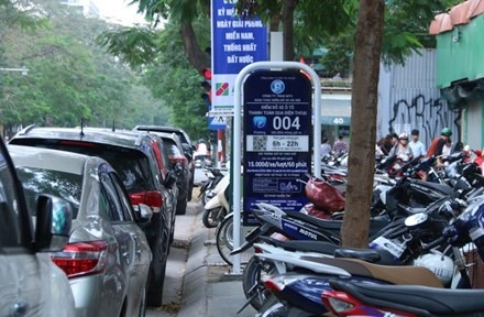 Smart parking services to be applied in four Hanoi districts, social news, vietnamnet bridge, english news, Vietnam news, news Vietnam, vietnamnet news, Vietnam net news, Vietnam latest news, vn news, Vietnam breaking news