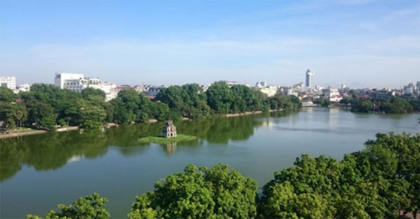 Ha Noi's iconic Hoan Kiem Lake, improve the lake's water quality, Vietnam economy, Vietnamnet bridge, English news about Vietnam, Vietnam news, news about Vietnam, English news, Vietnamnet news, latest news on Vietnam, Vietnam