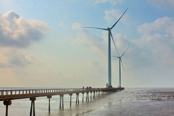 Electricity from wind energy, prevent landslides, land erosion, Vietnam economy, Vietnamnet bridge, English news about Vietnam, Vietnam news, news about Vietnam, English news, Vietnamnet news, latest news on Vietnam, Vietnam