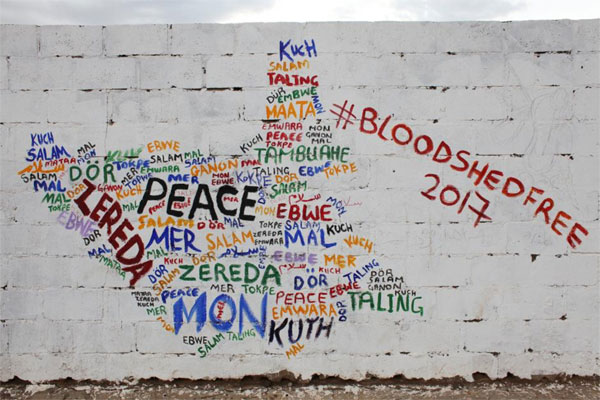 South Sudanese youth, art, push for peace