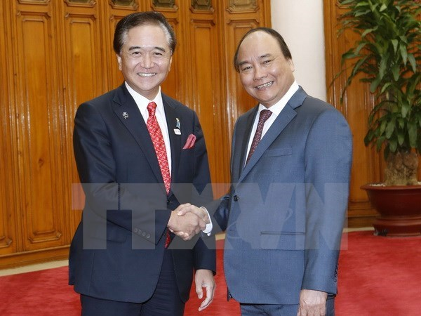 Prime Minister greets Governor of Japan's Kanagawa prefecture, Government news, Vietnam breaking news, politic news, vietnamnet bridge, english news, Vietnam news, news Vietnam, vietnamnet news, Vietnam net news, Vietnam latest news, vn news