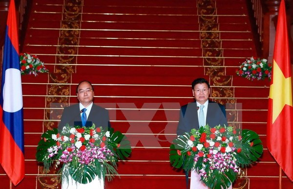 Lao PM urges joint efforts to deepen Vietnam-Laos ties, Government news, Vietnam breaking news, politic news, vietnamnet bridge, english news, Vietnam news, news Vietnam, vietnamnet news, Vietnam net news, Vietnam latest news, vn news