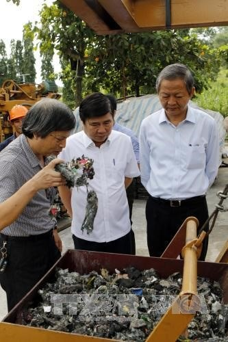 HCM City makes clean energy from garbage, environmental news, sci-tech news, vietnamnet bridge, english news, Vietnam news, news Vietnam, vietnamnet news, Vietnam net news, Vietnam latest news, Vietnam breaking news, vn news