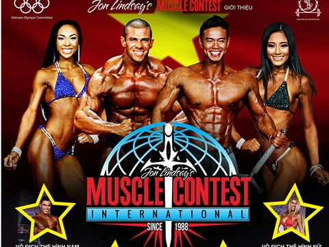 World muscle contest comes to Vietnam, entertainment events, entertainment news, entertainment activities, what's on, Vietnam culture, Vietnam tradition, vn news, Vietnam beauty, news Vietnam, Vietnam news, Vietnam net news, vietnamnet news, vietnamnet br