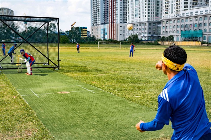 Vietnam's cricket squad to debut at SEA Games