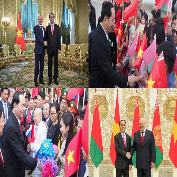 Eventful diplomatic activities of Vietnam in June