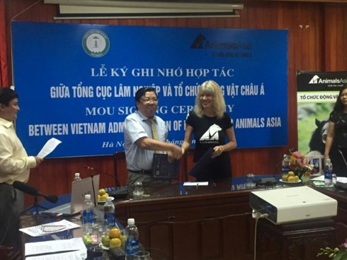 Vietnam commits to better bear preservation