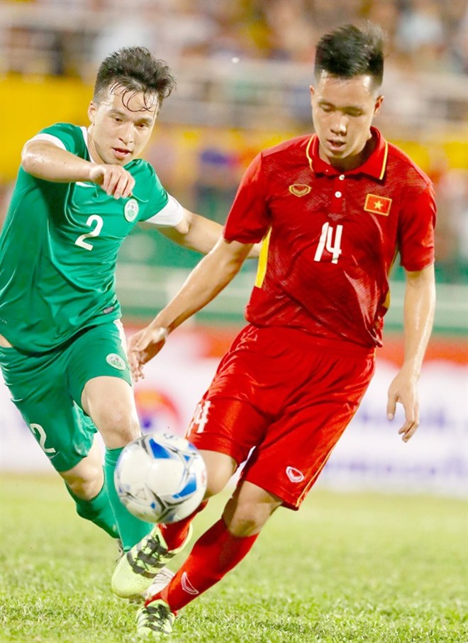 Vietnam tops group after two wins at AFC U23 champs qualification