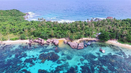 Gam Ghi Island – ideal place for trekkers