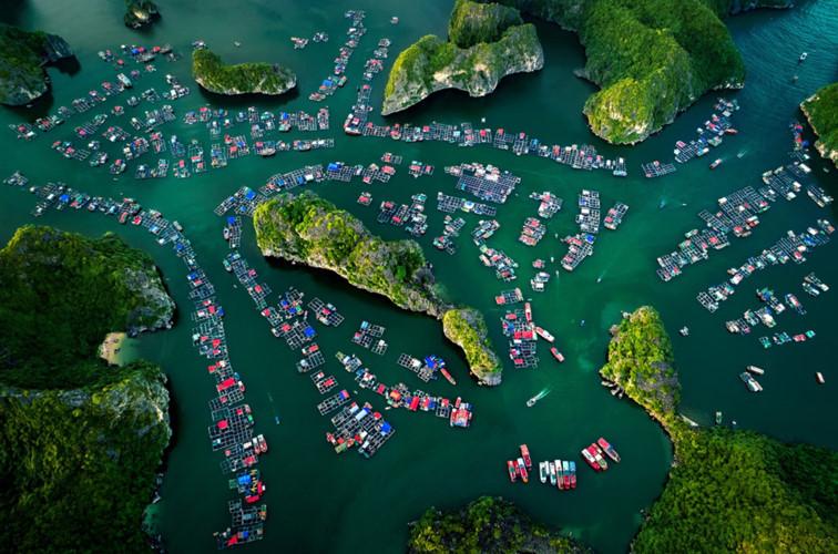 Vietnam beauty through flycam perspective