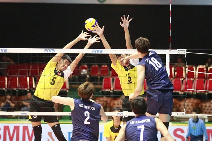 VN lose first match of Asian volleyball tourney, Sports news, football, Vietnam sports, vietnamnet bridge, english news, Vietnam news, news Vietnam, vietnamnet news, Vietnam net news, Vietnam latest news, vn news, Vietnam breaking news