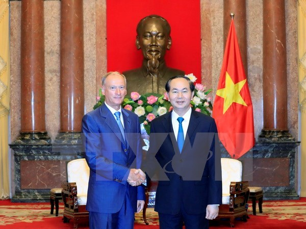 President welcomes Russia Security Council leader, Government news, Vietnam breaking news, politic news, vietnamnet bridge, english news, Vietnam news, news Vietnam, vietnamnet news, Vietnam net news, Vietnam latest news, vn news