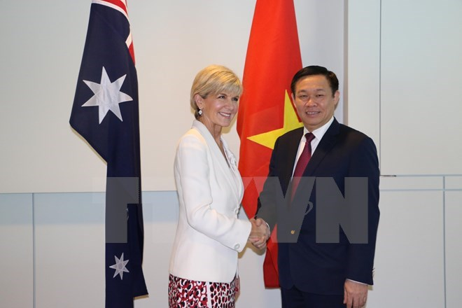 Deputy PM meets Australian officials to promote bilateral partnership, Government news, Vietnam breaking news, politic news, vietnamnet bridge, english news, Vietnam news, news Vietnam, vietnamnet news, Vietnam net news, Vietnam latest news, vn news