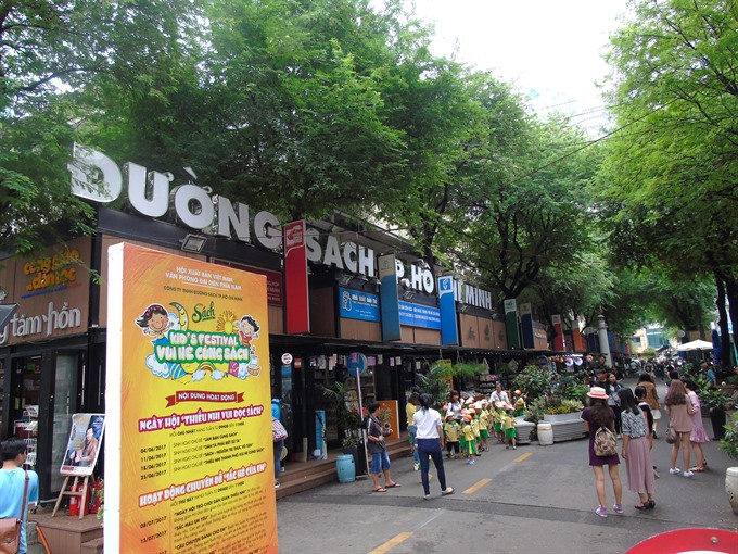HCM City's Book Street sales hit $840,000 in first six months