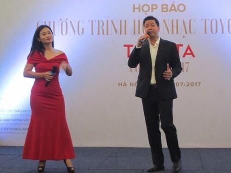 Toyota Concert 2017 to come to HCM City, Hanoi, Vinh Phuc