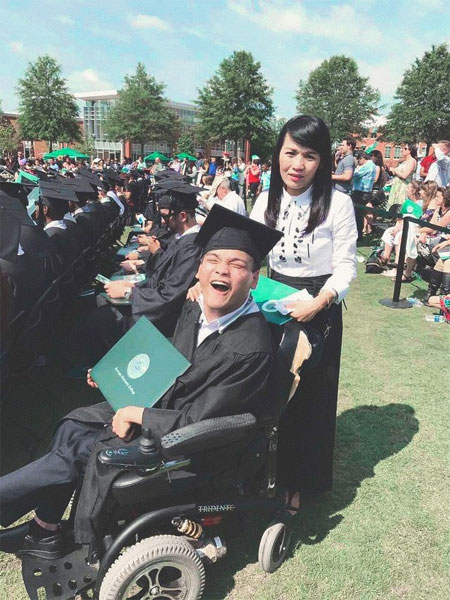 Get two degrees at a US university, cerebral palsy, Vietnam economy, Vietnamnet bridge, English news about Vietnam, Vietnam news, news about Vietnam, English news, Vietnamnet news, latest news on Vietnam, Vietnam