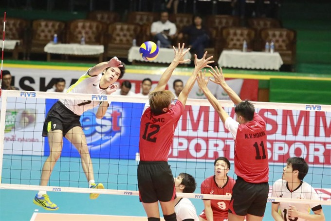VN lose second match in Asian volleyball tourney