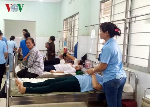 100 workers hospitalised in Tien Giang for food poisoning, social news, vietnamnet bridge, english news, Vietnam news, news Vietnam, vietnamnet news, Vietnam net news, Vietnam latest news, vn news, Vietnam breaking news