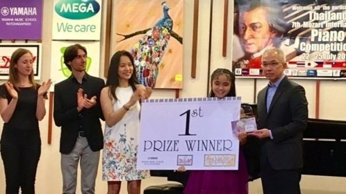 Vietnamese student wins first prize at international piano contest in Thailand, entertainment events, entertainment news, entertainment activities, what's on, Vietnam culture, Vietnam tradition, vn news, Vietnam beauty, news Vietnam, Vietnam news, Vietnam