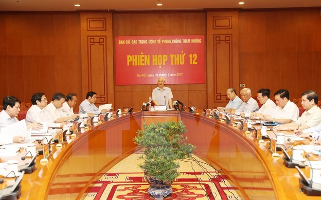 Central committee orders faster settlement of major corruption cases, Government news, Vietnam breaking news, politic news, vietnamnet bridge, english news, Vietnam news, news Vietnam, vietnamnet news, Vietnam net news, Vietnam latest news, vn news
