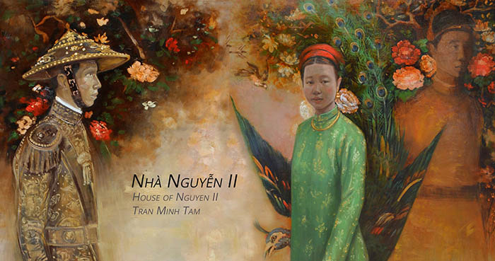 """House of Nguyen II"" – Solo exhibition by Tran Minh Tam in HCMC"