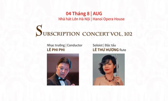 Hanoi Opera House presents concert on August 4