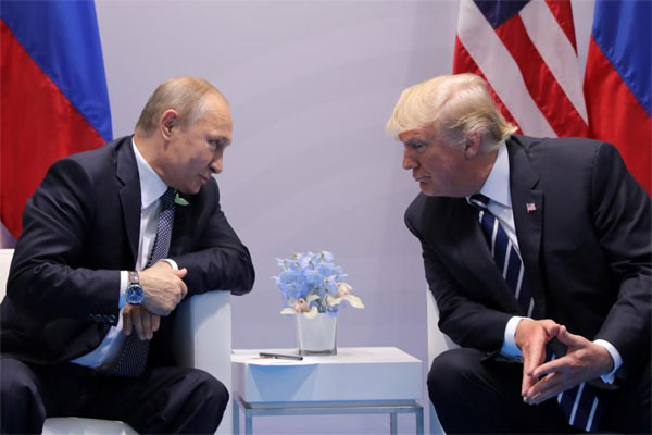 Trump, sign, Russia sanctions bill, 'trade war'