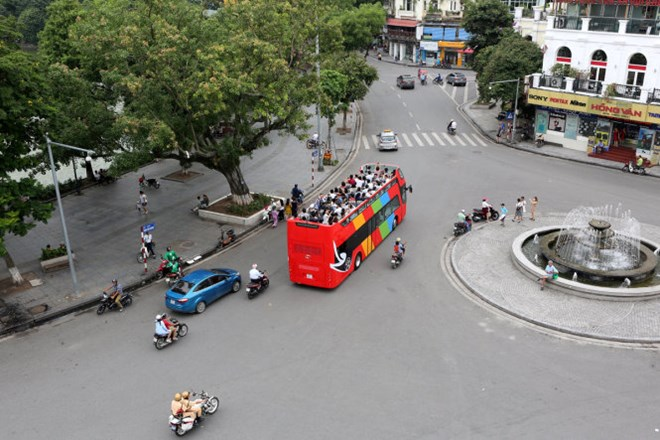 Hanoi to run double-decker tourist buses, social news, vietnamnet bridge, english news, Vietnam news, news Vietnam, vietnamnet news, Vietnam net news, Vietnam latest news, vn news, Vietnam breaking news