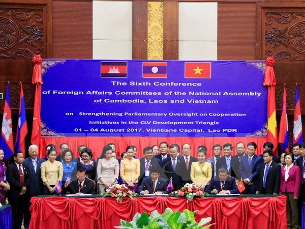 Cambodia-Laos-Vietnam NA committees strengthen cooperation, Government news, Vietnam breaking news, politic news, vietnamnet bridge, english news, Vietnam news, news Vietnam, vietnamnet news, Vietnam net news, Vietnam latest news, vn news