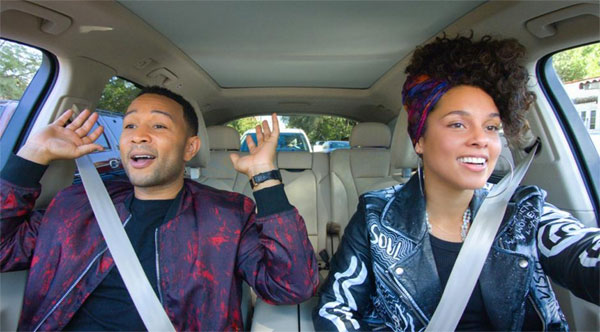 Apple Music banks, new show 'Carpool Karaoke', fans paying