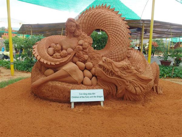 Sculptures, sand sculptures, Viet Sand Art, Vietnam economy, Vietnamnet bridge, English news about Vietnam, Vietnam news, news about Vietnam, English news, Vietnamnet news, latest news on Vietnam, Vietnam