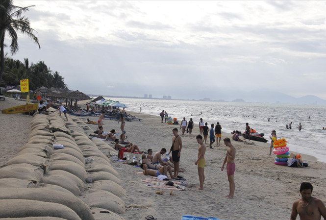 Cua Dai Beach recovers from erosion, Vietnam environment, climate change in Vietnam, Vietnam weather, Vietnam climate, pollution in Vietnam, environmental news, sci-tech news, vietnamnet bridge, english news, Vietnam news, news Vietnam, vietnamnet news, V