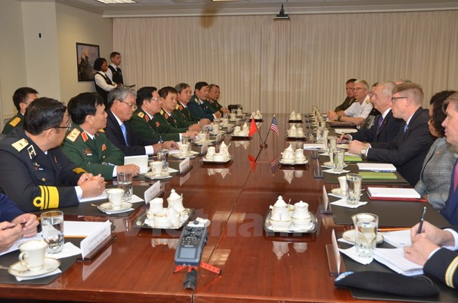Vietnamese, US defence chiefs hold talks, Government news, Vietnam breaking news, politic news, vietnamnet bridge, english news, Vietnam news, news Vietnam, vietnamnet news, Vietnam net news, Vietnam latest news, vn news